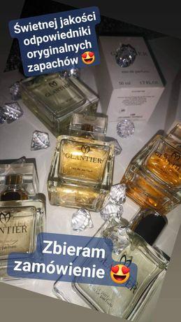 Perfumy GLANTIER zamienniki znanych marek