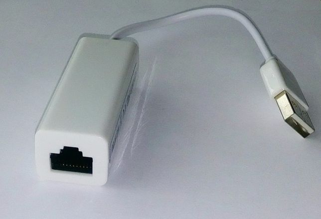 Внешняя USB Сетевая карта RJ45 Windows 8 XP зовнішня мережева карта