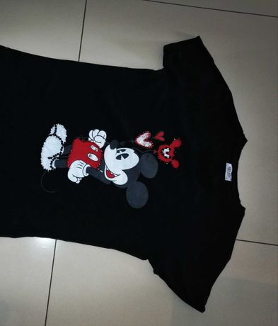 Liu jo Mickey t shirt czarny