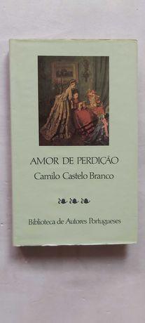 Livro: Amor de Perdição - Camilo Castelo Branco