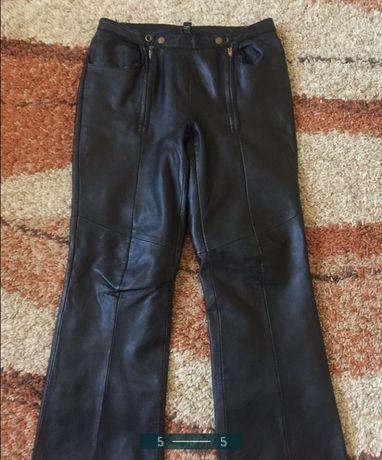 Кожаные Кюлоти штани шкіряні