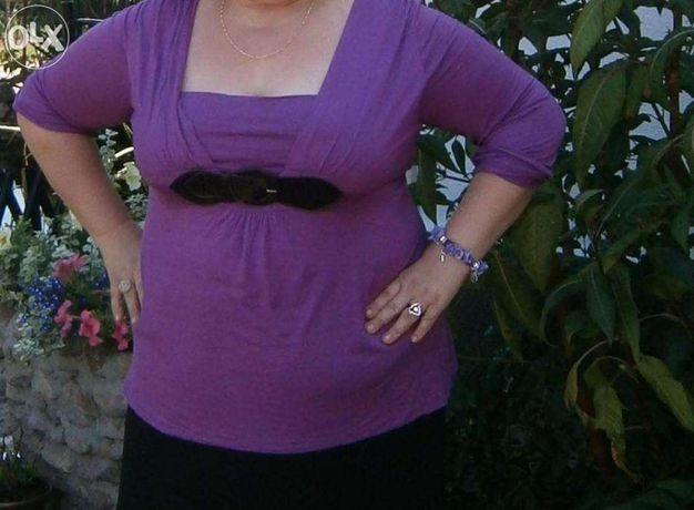 Fioletowa bluzka-TANIA WYSYŁKA