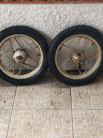 Roda de alumínio  casal boss dourada