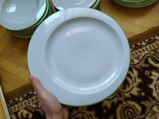 Набор тарелок,посуды 18 haas&czjzek Чехия фарфор