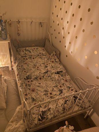 Łóżko Minnen Ikea z materacem