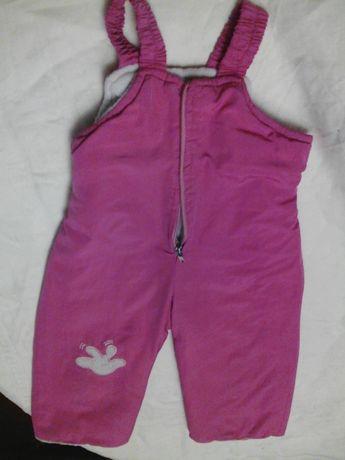 Штаны комбинезон для девочки 2-3 года