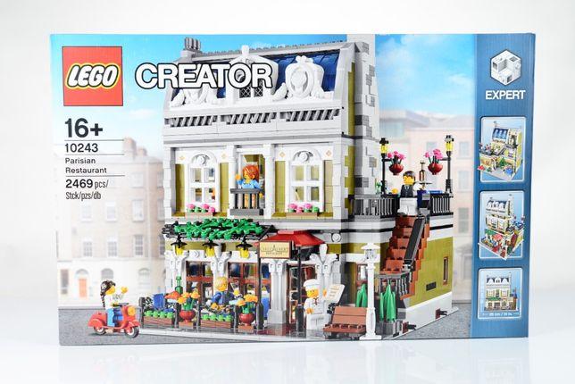Lego Creator Expert Modular 10243 Parisian Restaurant NOWY