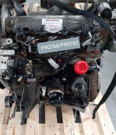 Motor Renault Trafic Opel Vivaro 1.9 DCI Ref. F9Q760 F9Q762