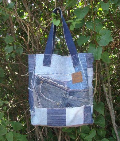Джинсовая сумка на весну лето плюс подарок