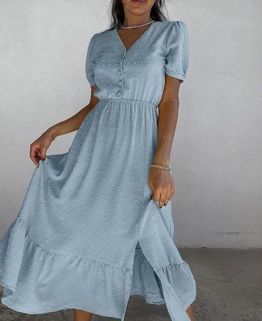 Сукня голубого коліру