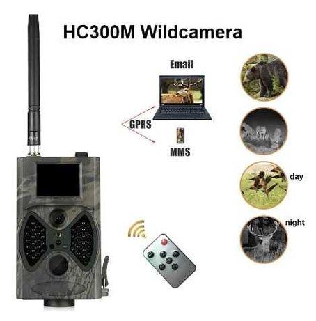 Ultima camera de Caça HC300M diurna e noturna. MMS/Email/GRPS