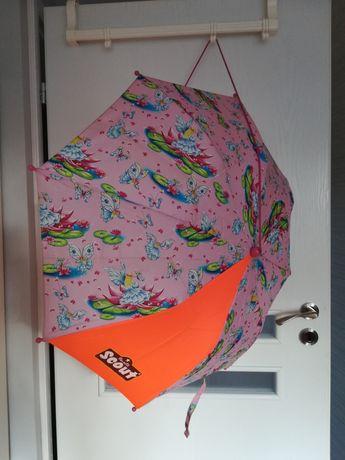 Scout parasolka dziewczęca dla dziewczynki dzieci różowa parasol