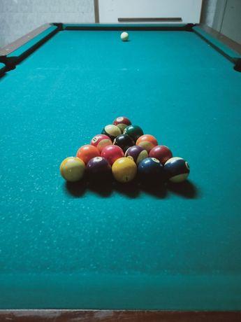 Mesa de Snooker c/ acessórios