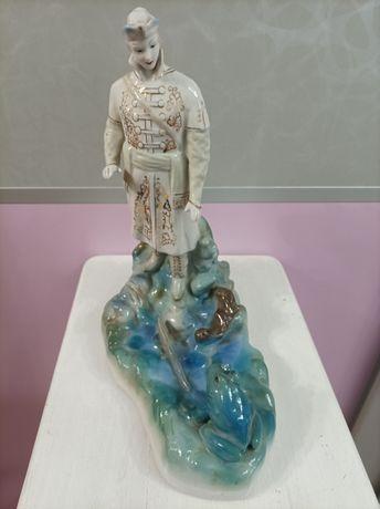 Форфоровая статуэтка царевна лягушка