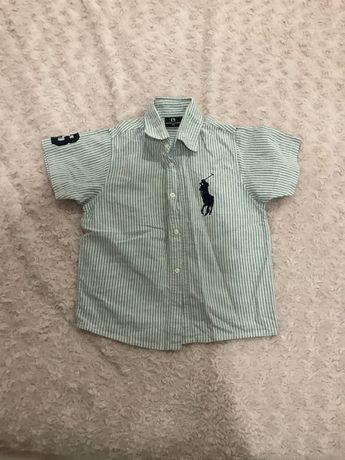 camisa ralph lauren 4 anos