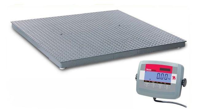 Waga platformowa 1500 kg 1,5x1,5m legalizowana, czytelny wyświetlacz