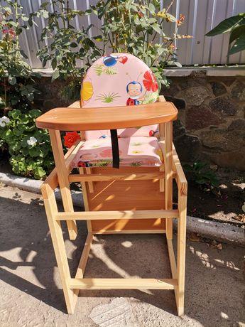 Стілець трансформер, стілець для годування, стілець парта