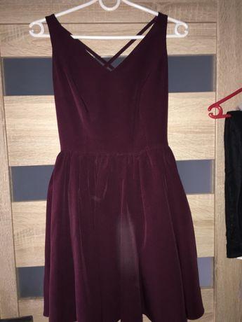 Bordowa sukienka, sprzedam