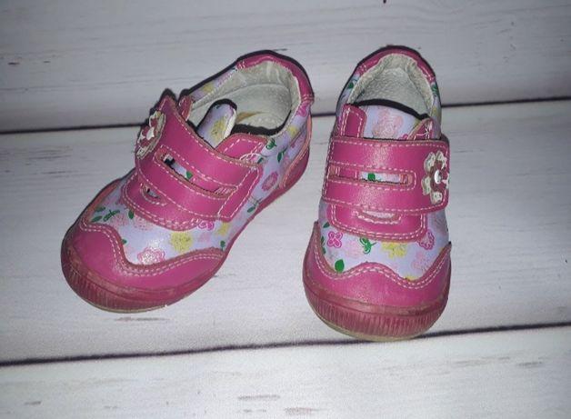 Кожаные ботинки для девочки 9мес-1.5лет