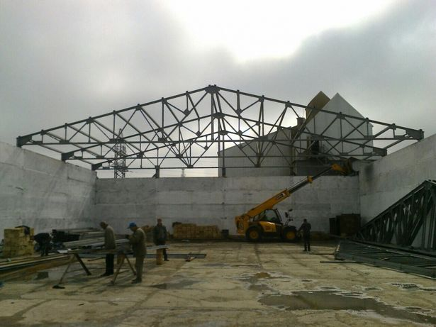 Строительство ангаров складов производственных помещений