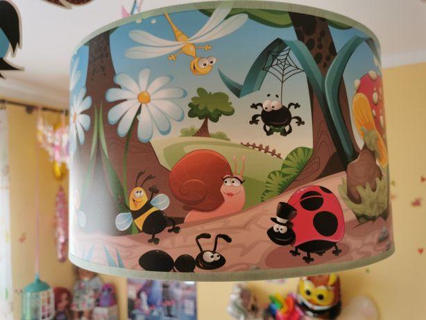 Lampa wisząca do pokoju dziecięcego zwierzęta