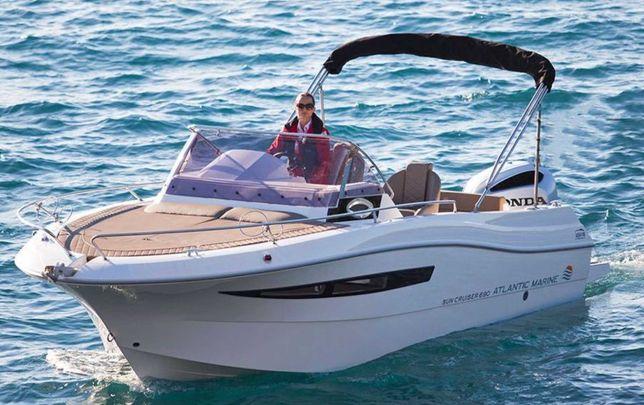 Nowa łódź motorowa Atlantic Marine 690 Sun Cruiser HONDA BF 150