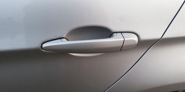 Klamka Klamki podświetlana LED BMW E90 E91 Titan Silber