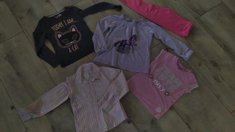 Zestaw na wiosnę  5-6 lat rozm 126 koszula