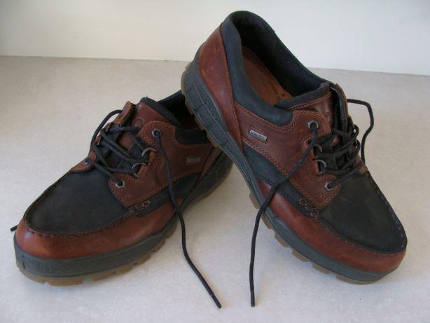 Piękne skórzane męskie buty ECCO TRACK 25 M za 1/4 ceny. Rozmiar: 45