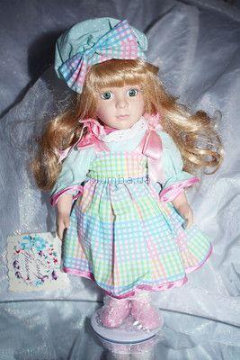 Прекрасный подарок новая фарфоровая кукла(США)