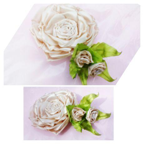 Розы Брошь, роза заколка, декоротивная роза