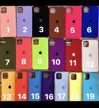 Чехол Silicone Case Iphone.Silicone Case для Iphone.Чехол силикон кейс