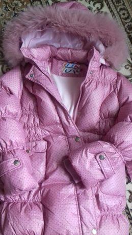 Зимнее пальто-пуховик Snowimage для девочки