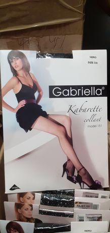 Kabaretki rajstopy gabriella Nero collant model 151