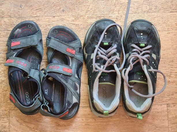 Buty sportowe chłopiece Ecco plus sandały rozm. 36