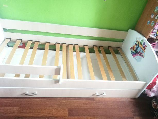 Łóżko dziecięce z szufladą 190x80 + materac transport do 30 km w cenie