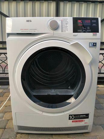 Сушильна машина AEG 8kg компресорна 2020рік