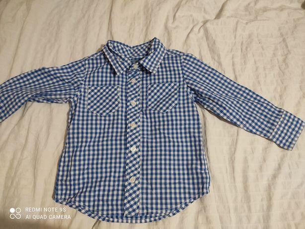 Koszula w kratę na 3 lata 98