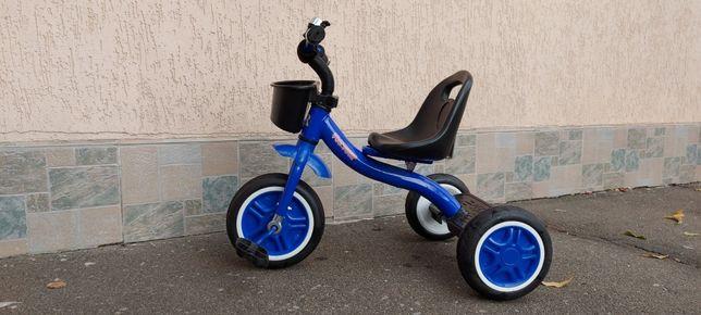 Трёхколёсный велосипед Crossride two-four
