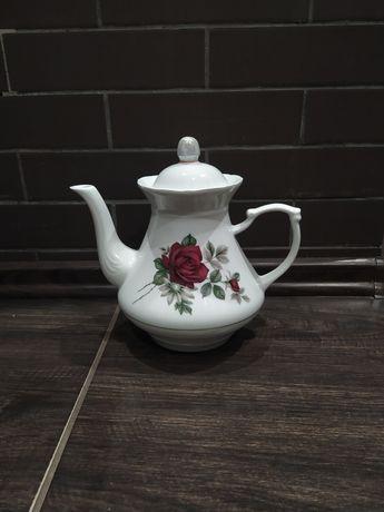 Чайник заварник большой керамический.