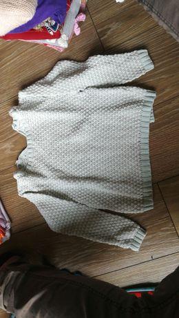 Sweterek dziewczęcy r. 86 F&F