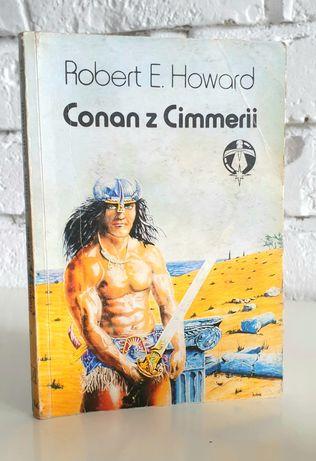 Ksiażka Conan z Cimmerii Robert E. Howard Fantasy