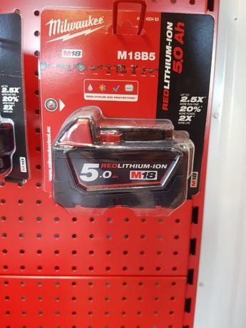 Bateria MILWAUKEE M18B5 18V 5,0 Ah