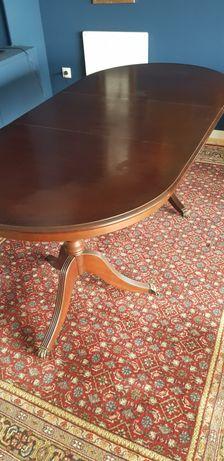 Mesa de Jantar estilo inglês com 4 cadeiras e 2 cadeirões