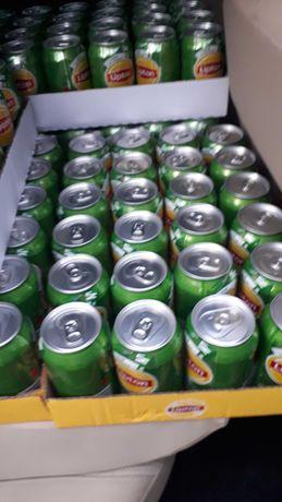 Lipton Ice Tea Green. Puszka 330 ml. Zestaw, zgrzewka 24 szt. Komplet