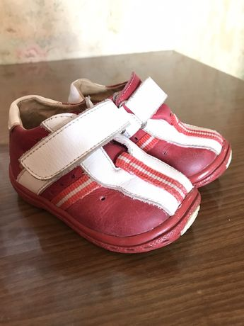Ботиночки/ботинки кожаные осень-весна 19 размер