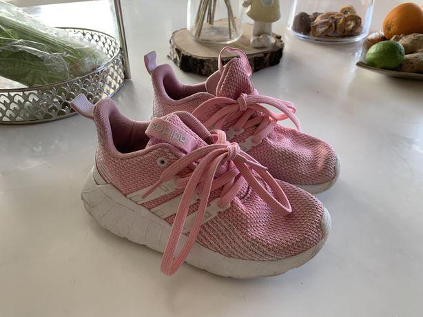 Adidas buty sportowe pink rozmiar 31,5