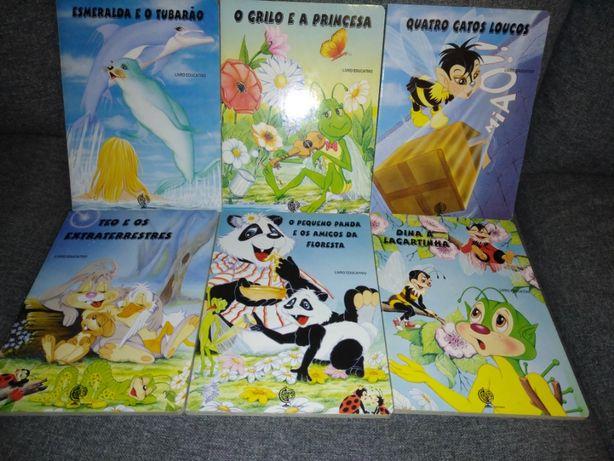 Livros infantis - em excelente estado