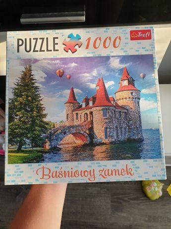 Puzzle trefl 1000 zamek