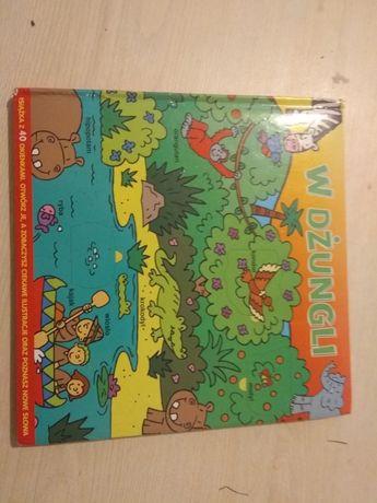 Książka W dżungli Dla maluchów Obrazki